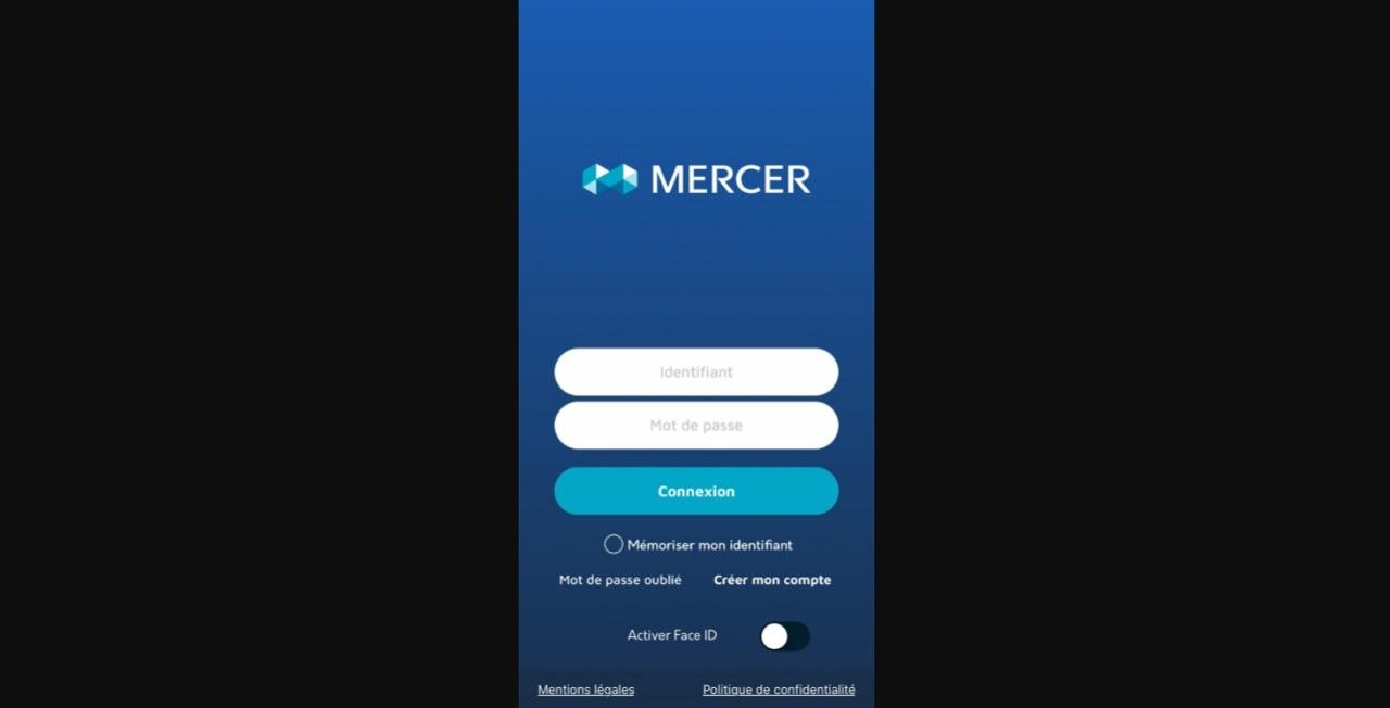 Mercernet appli