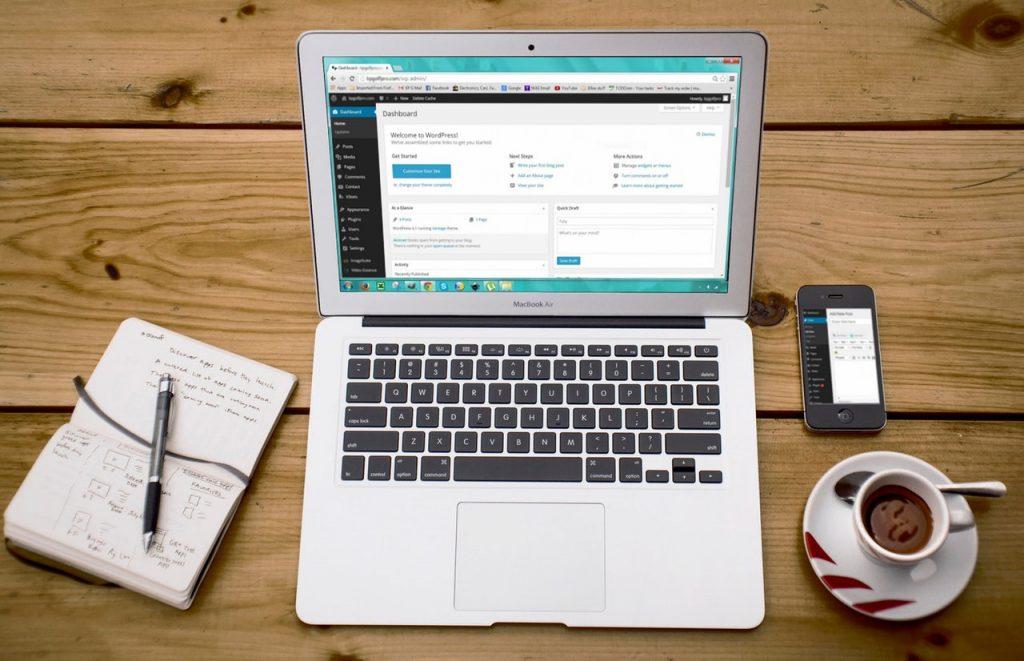 CMS WordPress avec Woocommerce